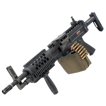 Ares LMG Light Machine Gun QSC AEG - Black