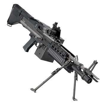 Ares x U.S. Ordnance M60E4 MK43 LMG AEG - Black