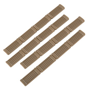 Ares M-LOK Rail Panel Covers (4er Pack) - Desert