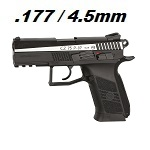 ASG x CZ CZ75 P-07 DUTY Co² BlowBack 4.5mm BB - Dual Tone