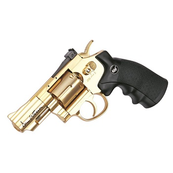 "ASG x Dan Wesson Co² Revolver 2.5"" - Gold"