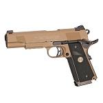 KJ Works x STI M1911 Tac Master Co² GBB - FDE