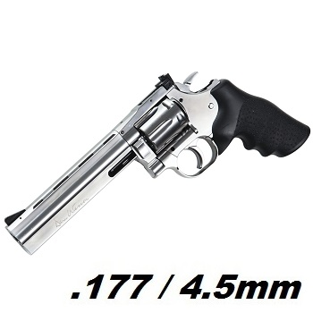 "ASG x Dan Wesson 715 Co² Revolver 6"" 4.5mm BB - Stainless"