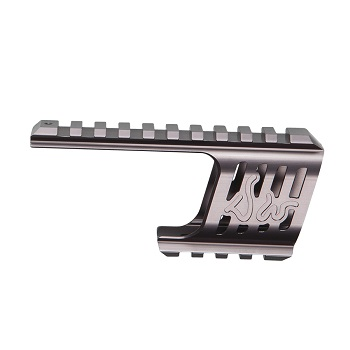 ASG CNC Rail Mount für Dan Wesson 715 Serie - Steel Grey