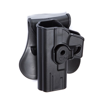 ASG CQC Polymer Holster für P17 Serie, links - Black