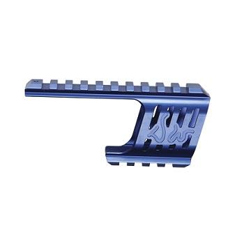 ASG CNC Rail Mount für Dan Wesson 715 Serie - Blau