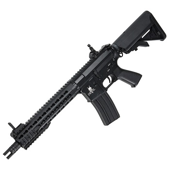 "ASG M4 10"" Carbine KeyMod ""Devil Series"" QSC AEG - Black"