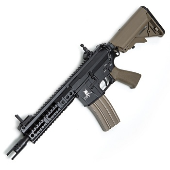"ASG M4 7"" CQB ""Devil Series"" QSC AEG - TAN"