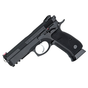 KJ Works X CZ SP-01 Shadow GBB - Black