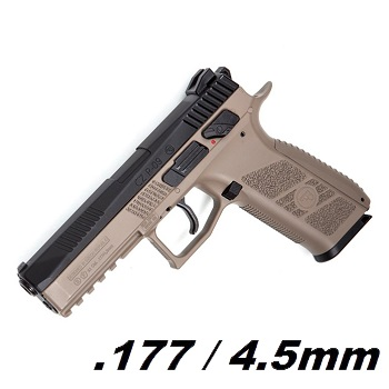 ASG x CZ P-09 DUTY Co² BlowBack Pistole 4.5mm Diabolo - Dual Tone