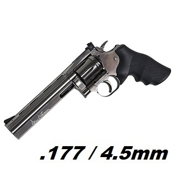 "ASG x Dan Wesson 715 Co² Revolver 6"" 4.5mm Diabolo - Steel Grey"