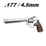 "ASG x Dan Wesson Co² Revolver 8"" 4.5mm BB - Chrome"