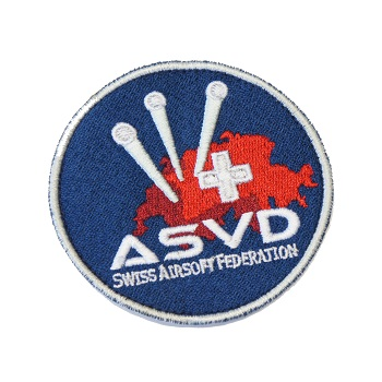 ASVD Patch mit Velcro - Full Color