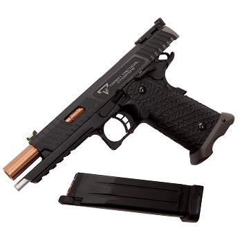 "AW Custom x EMG Arms STI Taran Tactical ""Combat Master"" 2011 (Steel) GBB - Black"