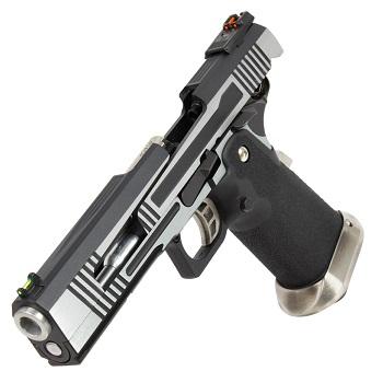AW Custom HX1001 HiCapa Pistol - Split Silver
