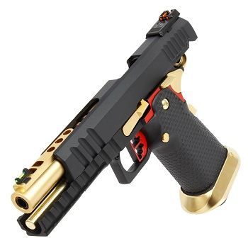 AW Custom HX2002 HiCapa Pistol - Black/Gold