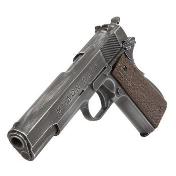 "AW Custom NE2002 1911 Pistol - ""Molon Labe"""