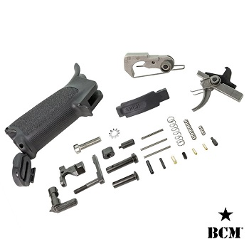 "BCM ® Lower Receiver Parts, Trigger & Grip Kit ""Black"" für AR-15 / M4"