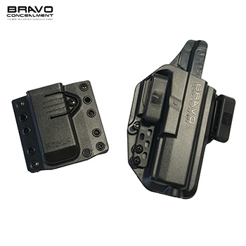 Bravo Concealment ® Torsion 3.0 IWB Holster & Mag Carrier für Glock ® 17 / 22 / 31 Serie, rechts - Black
