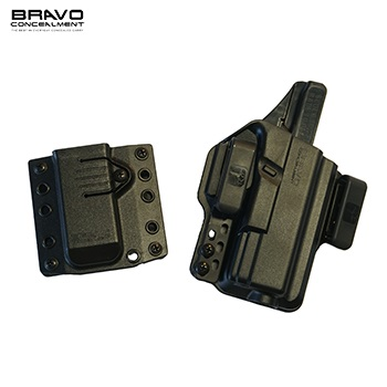 Bravo Concealment ® Torsion 3.0 IWB Holster & Mag Carrier für Glock ® 19 / 23 / 32 Serie, rechts - Black