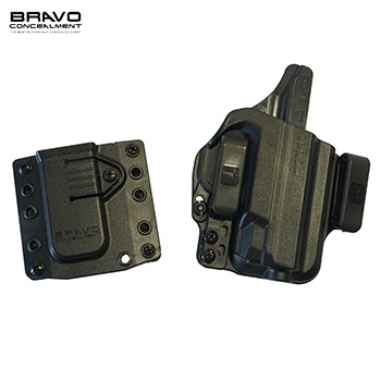 "Bravo Concealment ® Torsion 3.0 IWB Holster & Mag Carrier für M&P Shield 3.1"" Serie, rechts - Black"