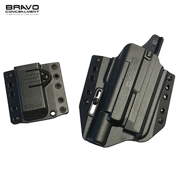 Bravo Concealment ® BCA 3.0 OWB Holster & Mag Carrier für M&P Serie Light Bearing (X300), rechts - Black
