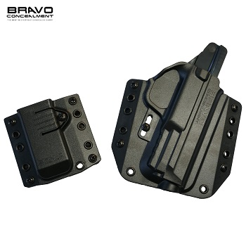 Bravo Concealment ® BCA 3.0 OWB Holster & Mag Carrier für M&P Serie, rechts - Black