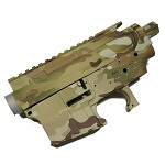 C.M. AEG M4 Receiver Set - MultiCam