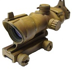 Custom ACOG Type RedDot Sight & IronSight - Used Look