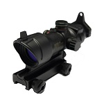 Emerson ACOG Type RedDot Sight & IronSight - Black
