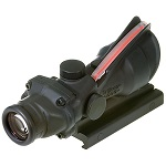 Emerson ACOG Type 4x32 Scope inkl. Fiber-Optik (Rot) - Black