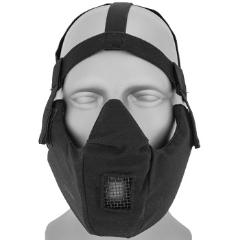 Emerson Tactical Half-Face Protective Mask - Black
