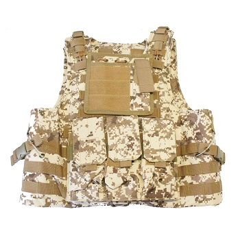 "PHX Plate Carrier / Weste ""FSBE Style"" Basic - Digital Desert"