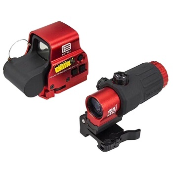 Emerson XPS3-2 & G33 3x Magnifier Set - Red / Black