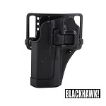 BLACKHAWK! ® CQC Gürtelholster Glock 17/22/31, links - Black