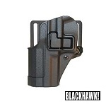 BLACKHAWK! ® CQC Gürtelholster H&K USP Reihe, links - Black