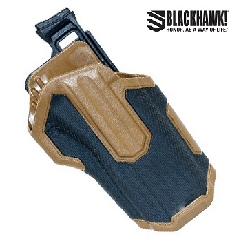 BLACKHAWK! ® Omnivore™ Non Light Bearing Level 2 MultiFit Gürtelholster , rechts - Coyote
