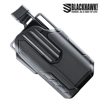 BLACKHAWK! ® Omnivore™ Light Bearing (X300) Level 2 MultiFit Gürtelholster , rechts - Black
