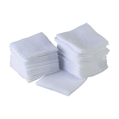 Sinclair ® Cotton Cleaning Patches (1-1/8 inch Square) - 500er Pack