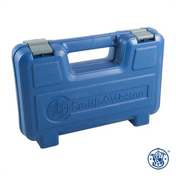 Smith & Wesson ® Pistole Case Koffer - Blue