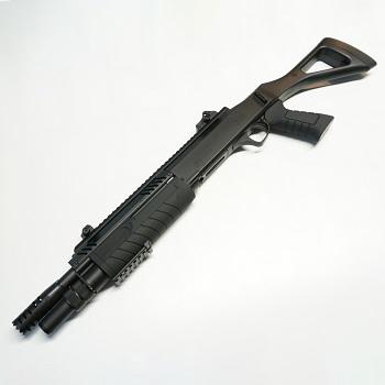 """Black OPS x FABARM STF/12 Compact 11"""" Federdruck Shotgun - Black"""