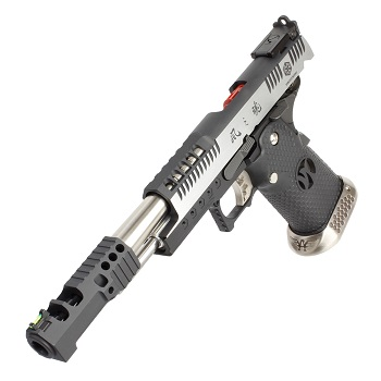 AW Custom HX2401 HiCapa .38 SuperComp Race Pistol - Dual Tone
