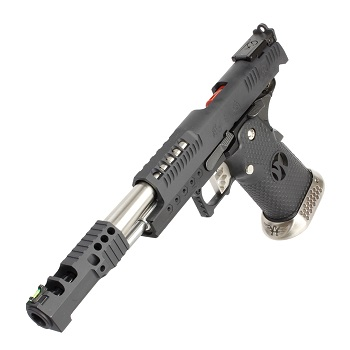 AW Custom HX2402 HiCapa .38 SuperComp Race Pistol - Black