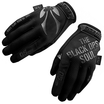"Black OPS x Mechanix ® Original Glove ""0.5mm"", Black - Gr. L"