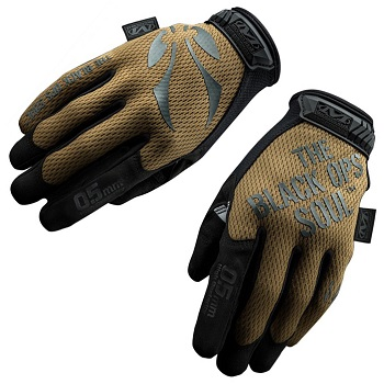 "Black OPS x Mechanix ® Original Glove ""0.5mm"", Coyote - Gr. L"