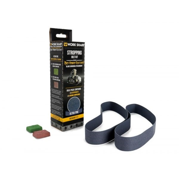 Work Sharp ® Blade Grinding Attachment Stropping Belt Kit - Ken Onion Edition
