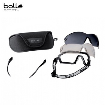 Bollé ® Cobra Tactical Goggle Set - Black