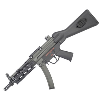 "Bolt SMG5 A4 Tactical BRSS AEG/EBB ""Recoil"" - Black"