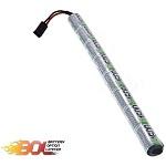 BOL 9.6v NiMh 1600mAh AK-Type/Stick-Akku