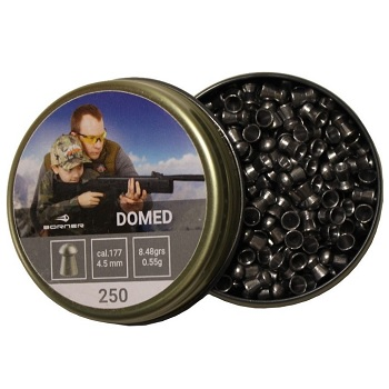 Borner Domed Pellets Diabolos 4.5mm - 250rnd
